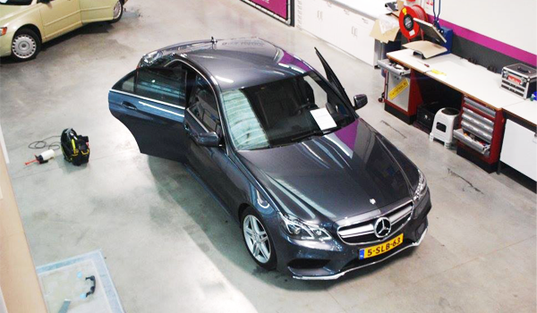 Mercedes Car Wrap