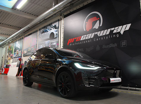 Tesla X – Paint protection seal & more!