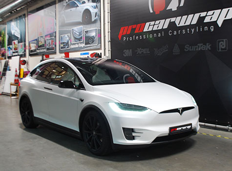 Tesla X – Xpel STEALTH full car protection