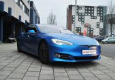 Tesla Model S Carwrap